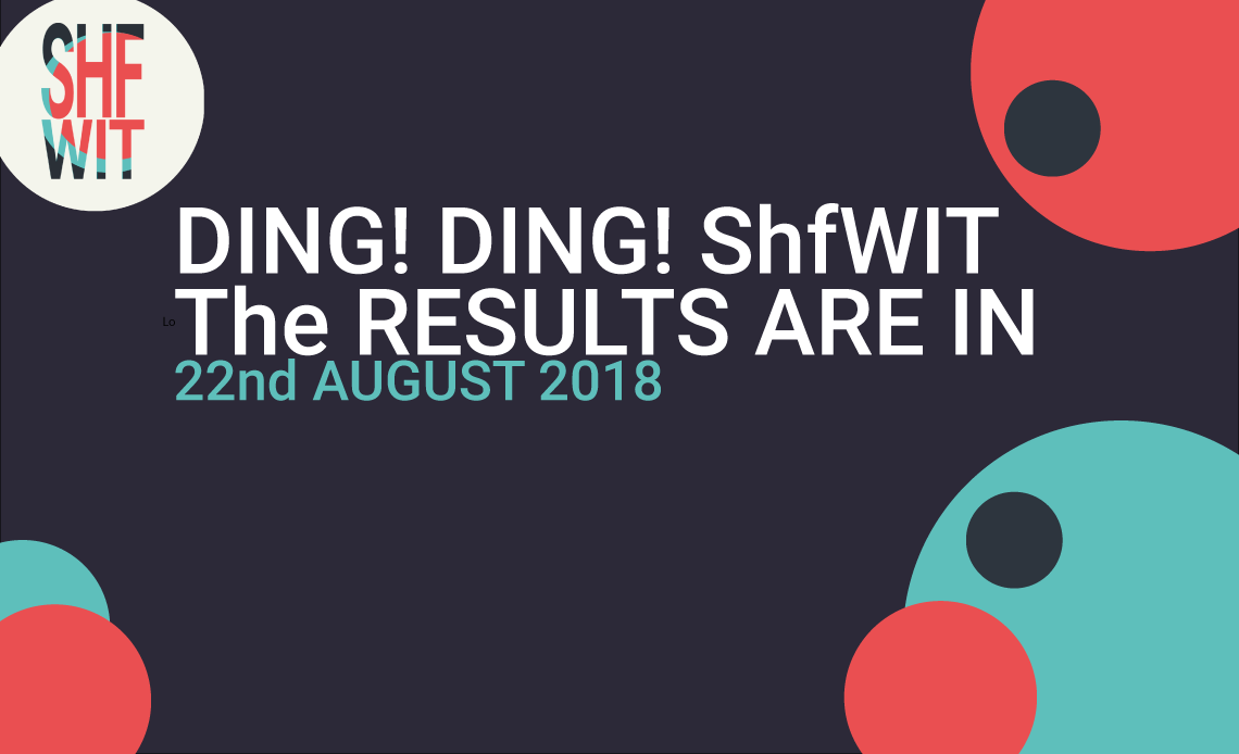 Ding! Ding! ShfWIT - the results are in